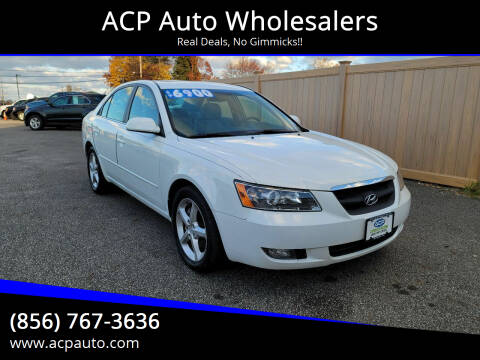 2007 Hyundai Sonata for sale at ACP Auto Wholesalers in Berlin NJ