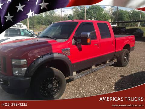 2009 Ford F-250 Super Duty for sale at Americas Trucks in Jones OK