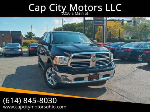 2013 RAM Ram Pickup 1500 for sale at Cap City Motors LLC in Columbus OH