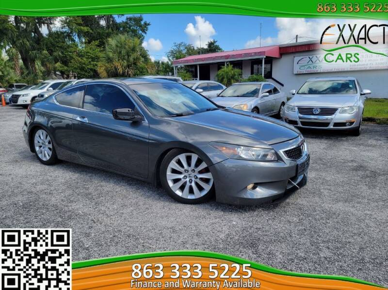 2010 Honda Accord for sale at Exxact Cars in Lakeland FL