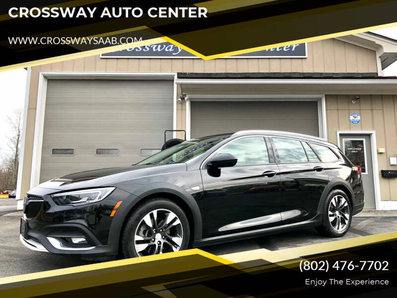 2018 Buick Regal TourX for sale at CROSSWAY AUTO CENTER in East Barre VT