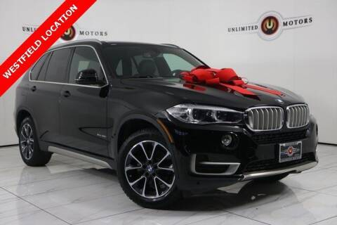2018 BMW X5 for sale at INDY'S UNLIMITED MOTORS - UNLIMITED MOTORS in Westfield IN