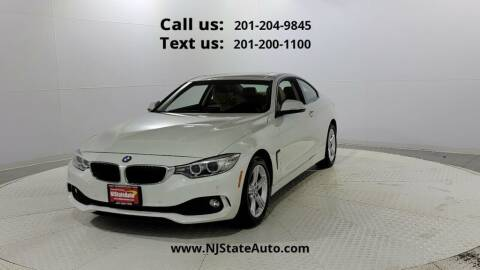 2014 BMW 4 Series for sale at NJ State Auto Used Cars in Jersey City NJ