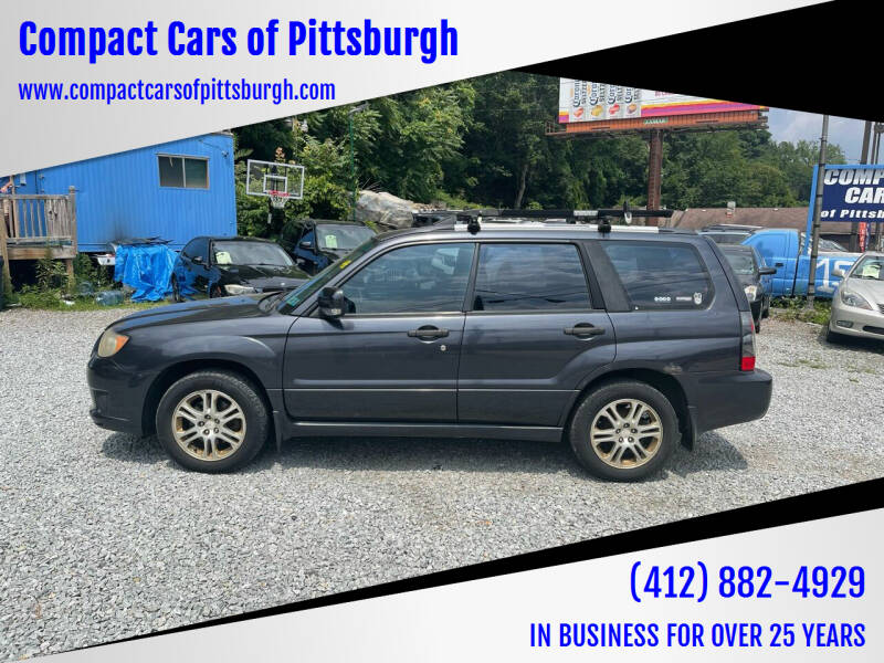 2008 Subaru Forester for sale at Compact Cars of Pittsburgh in Pittsburgh PA