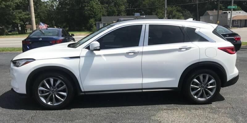 2019 Infiniti QX50 for sale at Dad's Auto Sales in Newport News VA