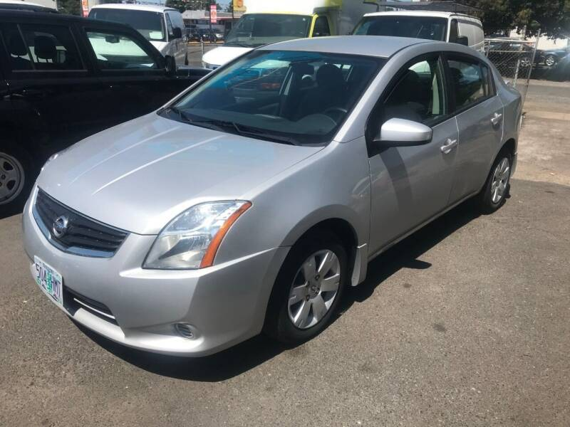 2012 Nissan Sentra for sale at Chuck Wise Motors in Portland OR