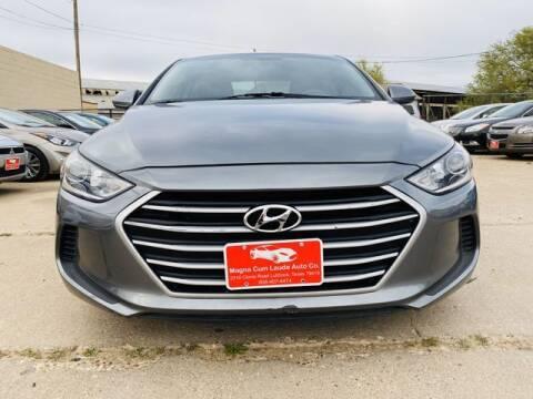 2017 Hyundai Elantra for sale at MAGNA CUM LAUDE AUTO COMPANY in Lubbock TX