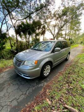 2014 Chrysler Town and Country for sale at All About Price in Bunnell FL