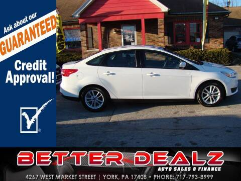 2018 Ford Focus for sale at Better Dealz Auto Sales & Finance in York PA