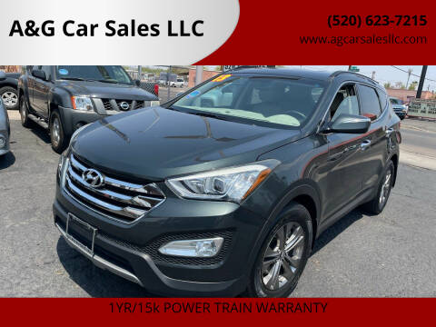 2013 Hyundai Santa Fe Sport for sale at A&G Car Sales  LLC in Tucson AZ