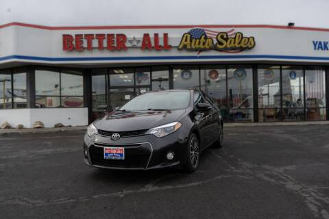 2009 Toyota Corolla for sale at Better All Auto Sales in Yakima WA