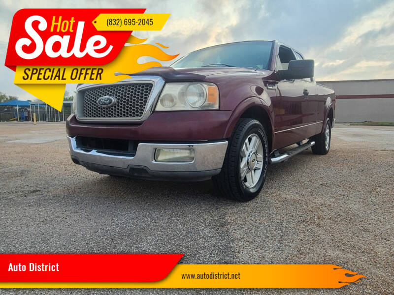 2004 Ford F-150 for sale at Auto District in Baytown TX