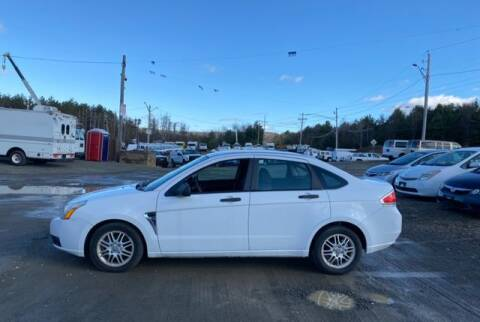 2008 Ford Focus for sale at Upstate Auto Sales Inc. in Pittstown NY