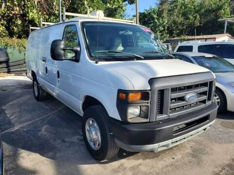 2013 Ford E-Series Cargo for sale at America Auto Wholesale Inc in Miami FL