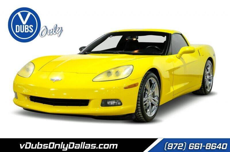 2007 Chevrolet Corvette for sale at VDUBS ONLY in Dallas TX