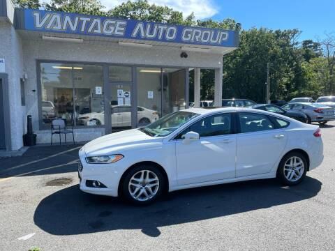 2015 Ford Fusion for sale at Vantage Auto Group in Brick NJ