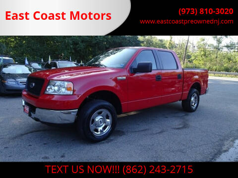 2005 Ford F-150 for sale at East Coast Motors in Lake Hopatcong NJ