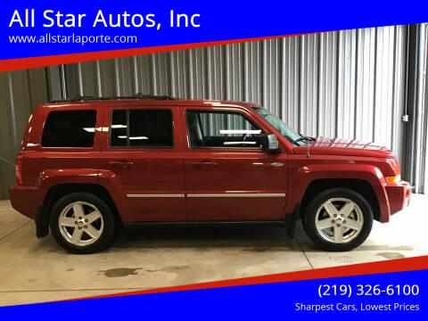 2010 Jeep Patriot for sale at All Star Autos, Inc in La Porte IN