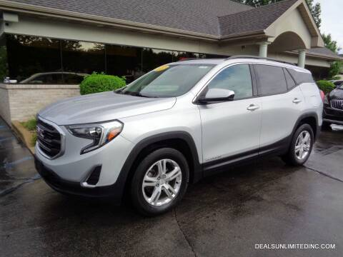 2018 GMC Terrain for sale at DEALS UNLIMITED INC in Portage MI