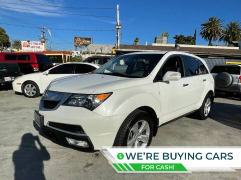 2011 Acura MDX for sale at Good Vibes Auto Sales in North Hollywood CA