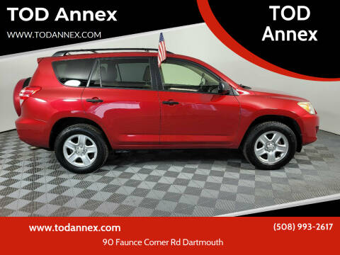 2012 Toyota RAV4 for sale at TOD Annex in North Dartmouth MA