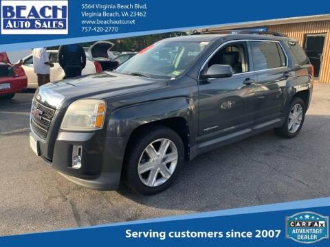 2011 GMC Terrain for sale at Beach Auto Sales in Virginia Beach VA