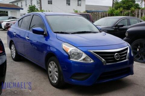 2017 Nissan Versa for sale at Michael's Auto Sales Corp in Hollywood FL