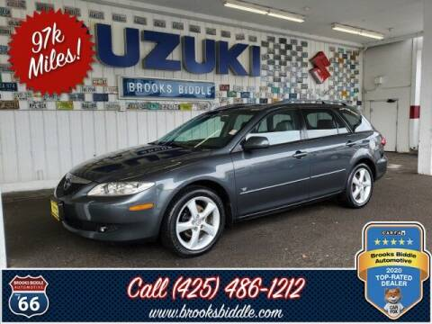 2005 Mazda MAZDA6 for sale at BROOKS BIDDLE AUTOMOTIVE in Bothell WA