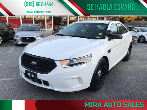 2017 Ford Taurus for sale at Mira Auto Sales in Raleigh NC