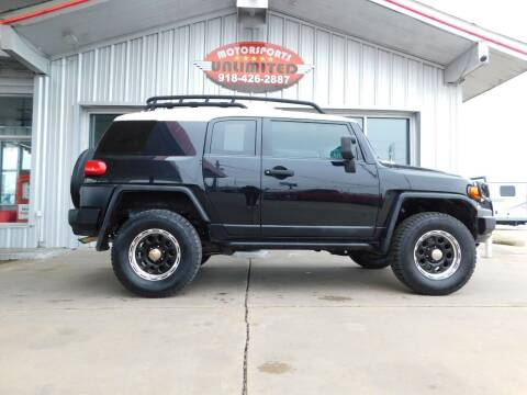 2008 Toyota FJ Cruiser for sale at Motorsports Unlimited in McAlester OK