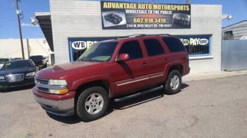 2005 Chevrolet Tahoe for sale at Advantage Motorsports Plus in Phoenix AZ