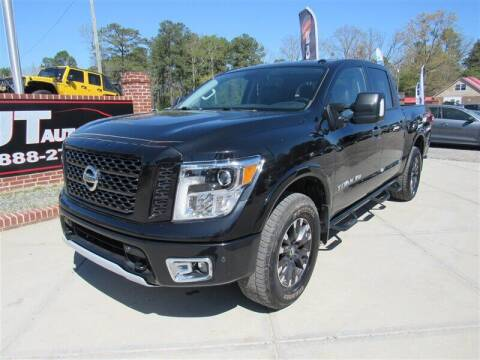 2019 Nissan Titan for sale at J T Auto Group in Sanford NC