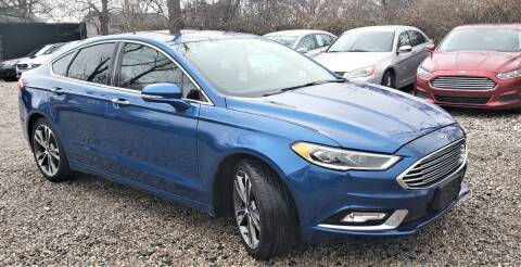 2017 Ford Fusion for sale at Premier Auto & Parts in Elyria OH
