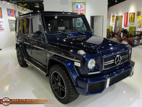 2013 Mercedes-Benz G-Class for sale at The New Auto Toy Store in Fort Lauderdale FL