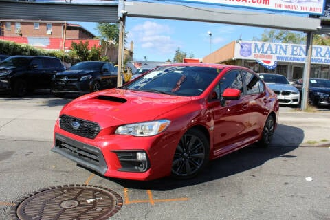 2020 Subaru WRX for sale at MIKEY AUTO INC in Hollis NY