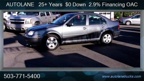 2004 Volkswagen Jetta for sale at Auto Lane in Portland OR