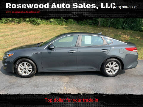 2016 Kia Optima for sale at Rosewood Auto Sales, LLC in Hamilton OH