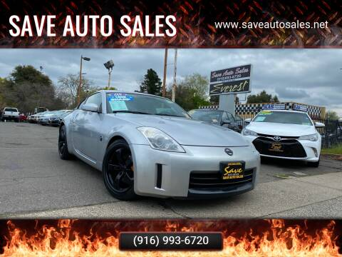 2008 Nissan 350Z for sale at Save Auto Sales in Sacramento CA