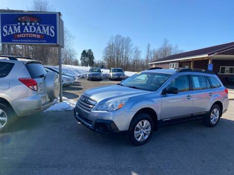 2013 Subaru Outback for sale at Sam Adams Motors in Cedar Springs MI