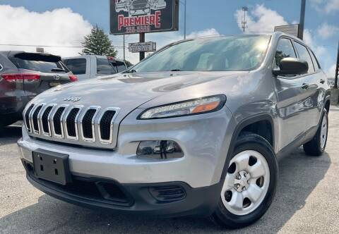 2014 Jeep Cherokee for sale at Featherston Motors in Lexington KY