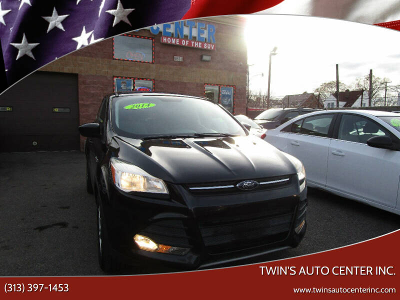 2014 Ford Escape for sale at Twin's Auto Center Inc. in Detroit MI