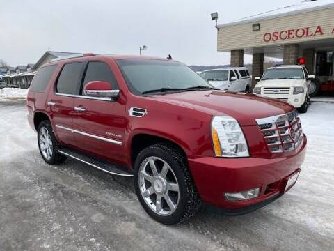 2012 Cadillac Escalade for sale at Osceola Auto Sales and Service in Osceola WI