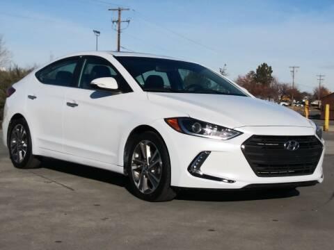 2017 Hyundai Elantra for sale at AUTOMOTIVE SOLUTIONS in Salt Lake City UT
