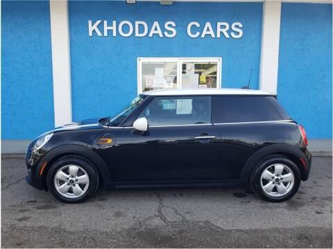 2015 MINI Hardtop 2 Door for sale at Khodas Cars in Gilroy CA