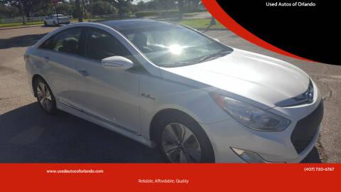 2015 Hyundai Sonata Hybrid for sale at Used Autos of Orlando in Orlando FL