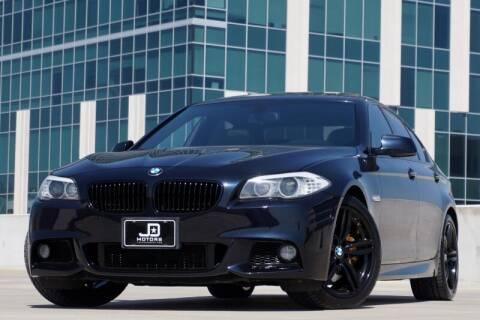 2013 BMW 5 Series for sale at JD MOTORS in Austin TX