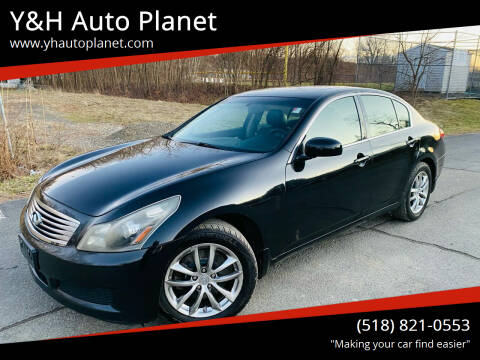 2008 Infiniti G35 for sale at Y&H Auto Planet in West Sand Lake NY