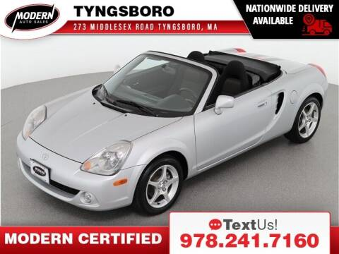 2003 Toyota MR2 Spyder for sale at Modern Auto Sales in Tyngsboro MA