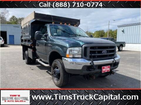 2004 Ford F-350 Super Duty for sale at TTC AUTO OUTLET/TIM'S TRUCK CAPITAL & AUTO SALES INC ANNEX in Epsom NH