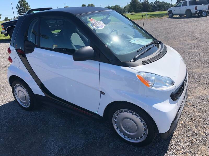 2015 Smart fortwo pure 2dr Hatchback - Fort Gibson OK